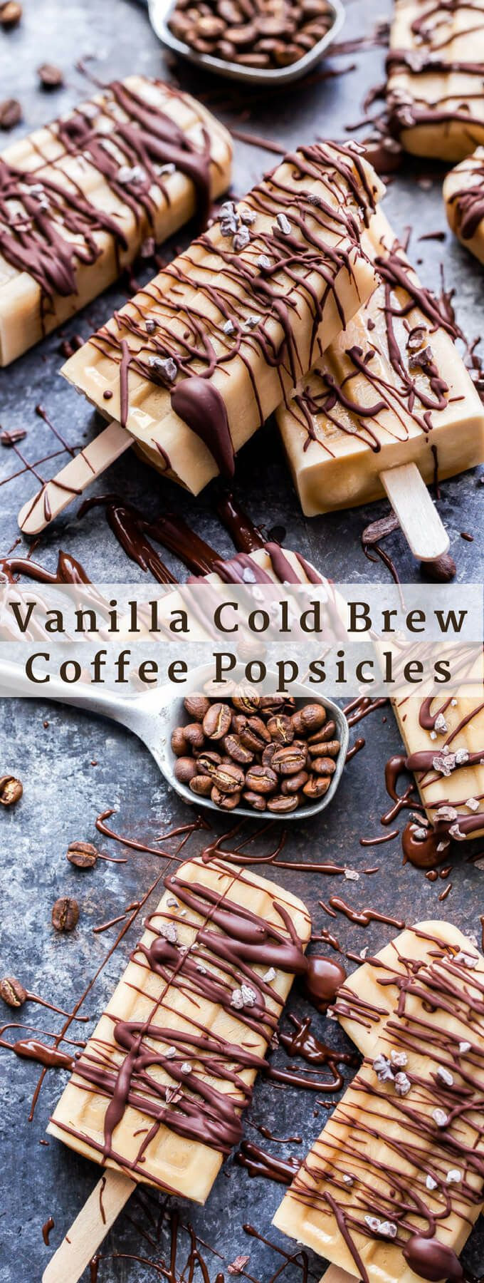Vanilla Cold Brew Coffee Popsicles - Recipe Runner