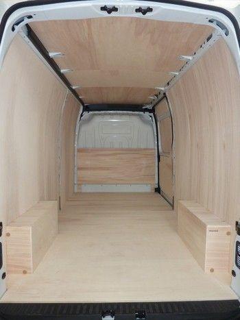 Photo of Utility, van, workshop vehicle, truck layout, RENAULT new …, #d – Van Life