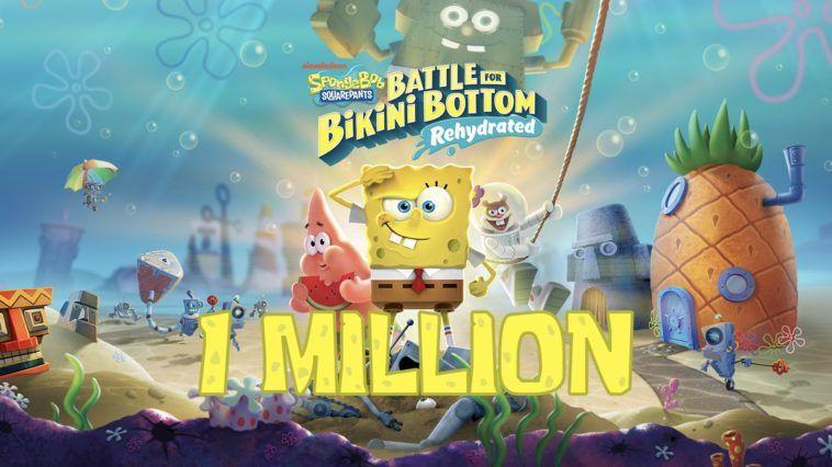 Spongebob Squarepants Battle For Bikini Bottom Rehydrated Berhasil Terjual 1 Juta Kopi Spongebob Spongebob Squarepants Bikini