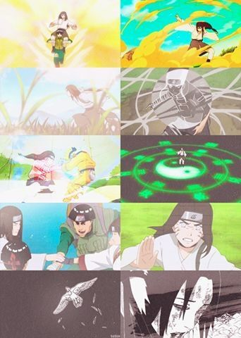 Neji's life up until his death.