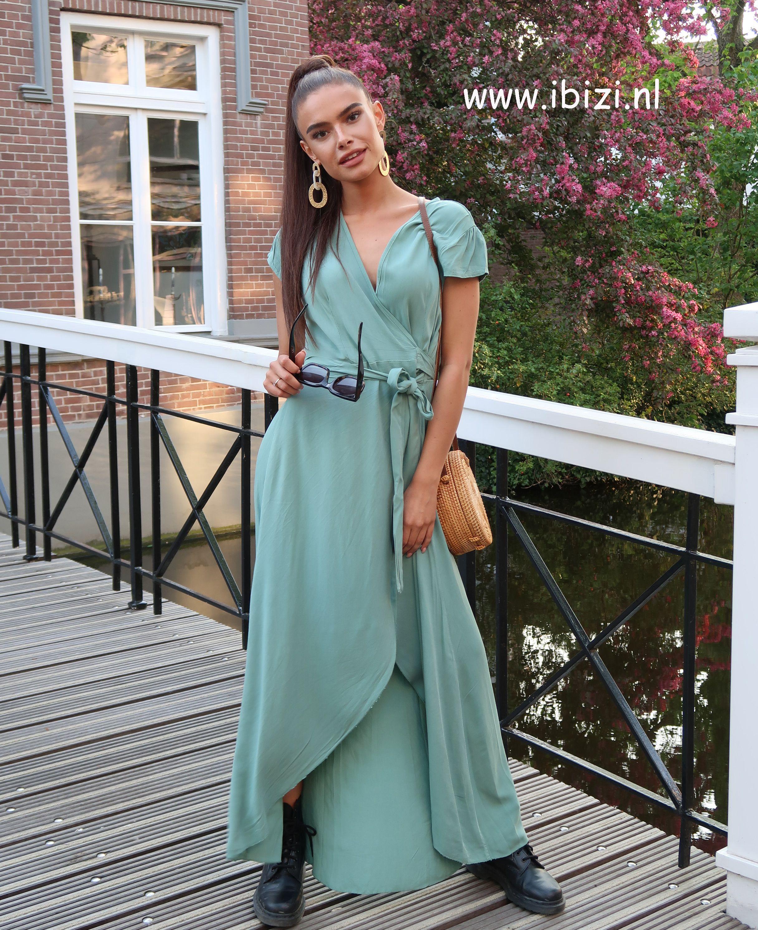 Verbazingwekkend Maxi Jurk Dames Festival (met afbeeldingen) | Bruiloft gast jurken CL-06