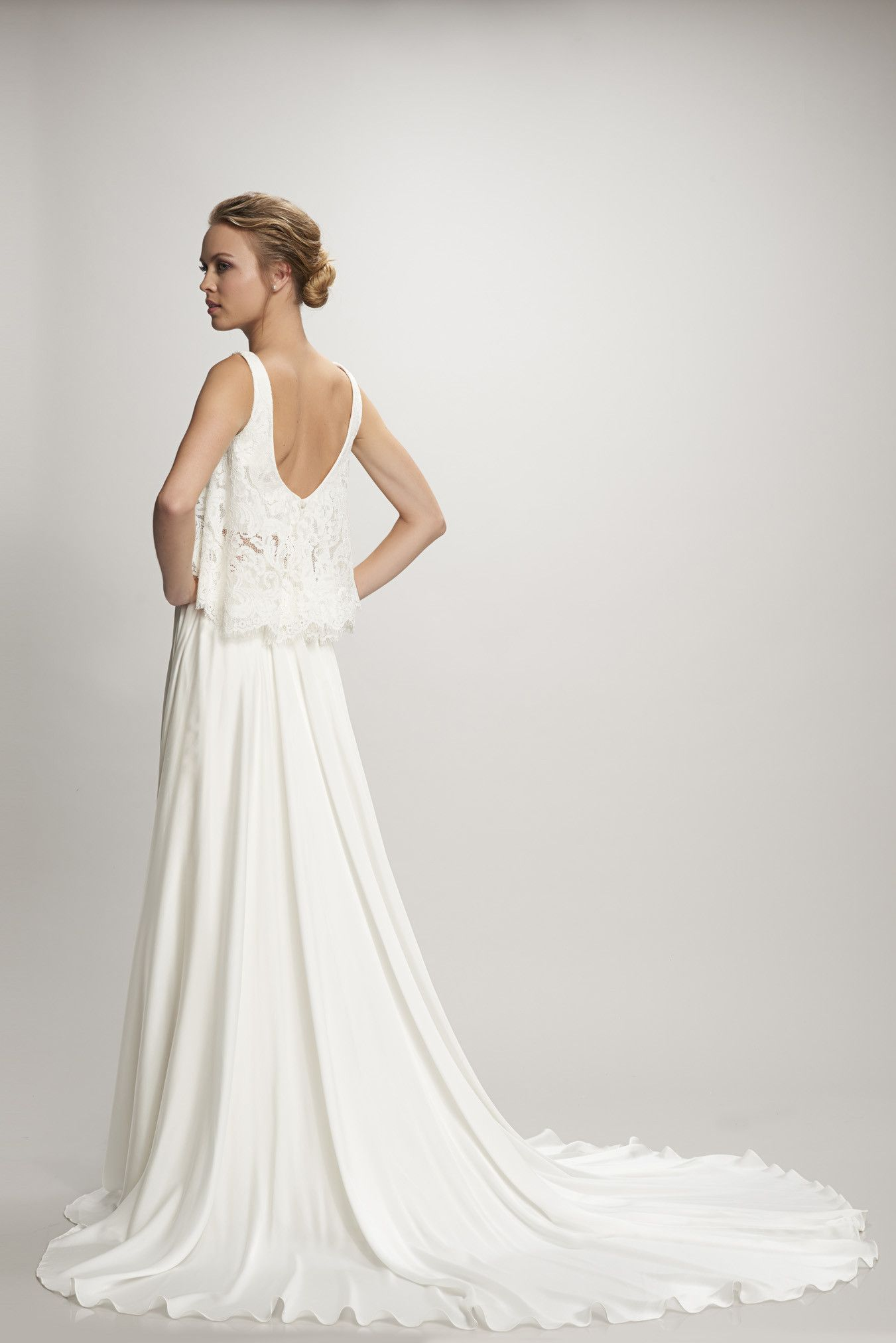 Theia Couture Marlena Skirt Available at Sash & Bustle