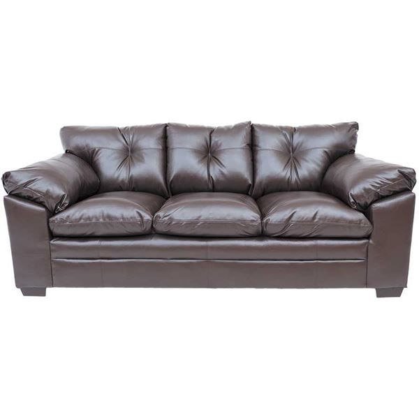 Afw Sebring Bonded Leather Sofa By Simmons Upholstery 6569s