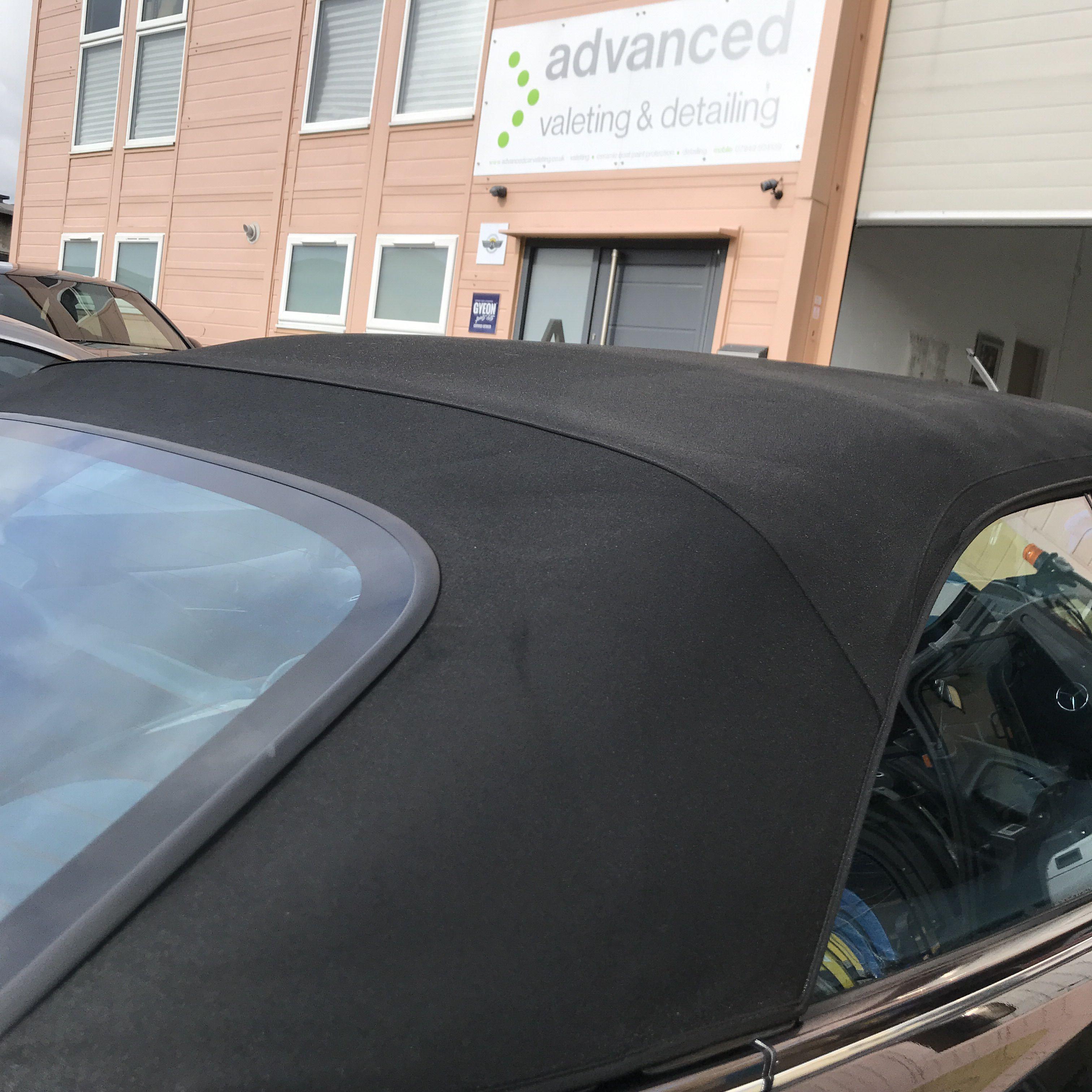 Mercedes Benz Clk320 Convertible Roof Detail Mercedes Benz