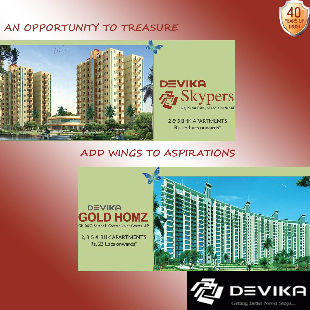 The New Wings Greater Noida 40 Years Noida