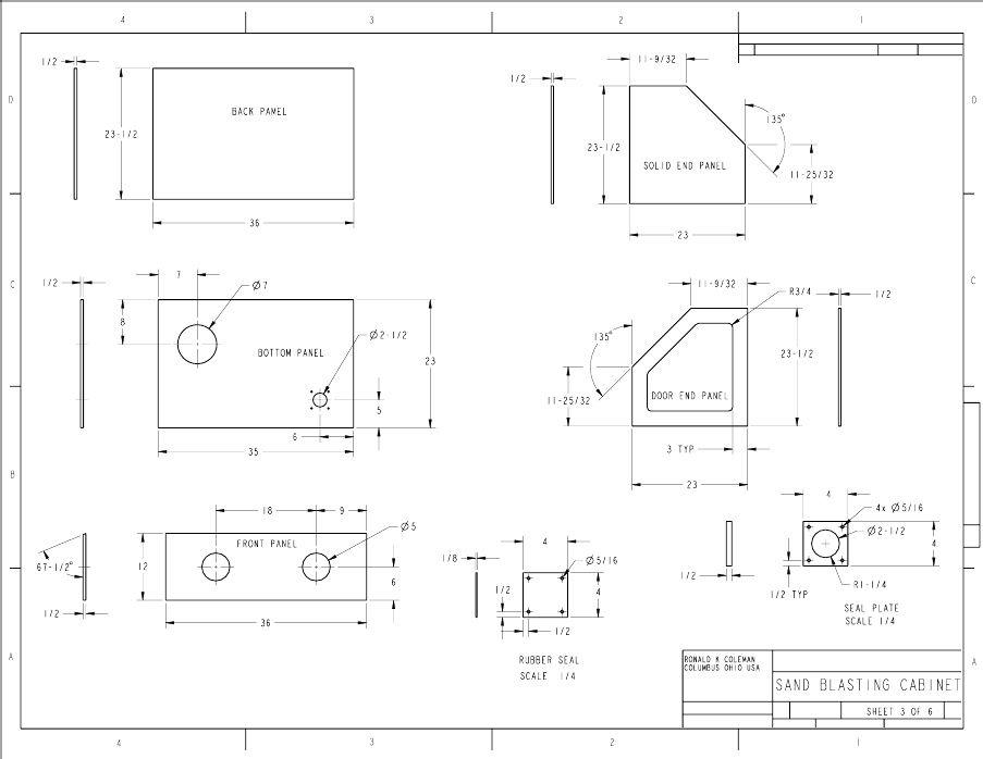 Popular Mechanics Plans Homemade Sandblasting Cabinet Blueprints Sandblasting Cabinet Popular Mechanics Plans Popular Mechanics