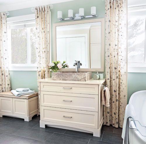 Douceur champêtre dans la salle de bain Pinterest Decoration and