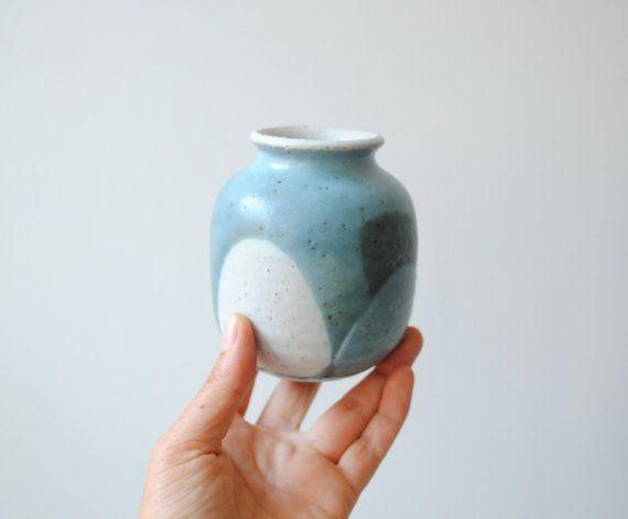 Small Vintage Vase Handmade Pottery Vase Ceramics Handmade