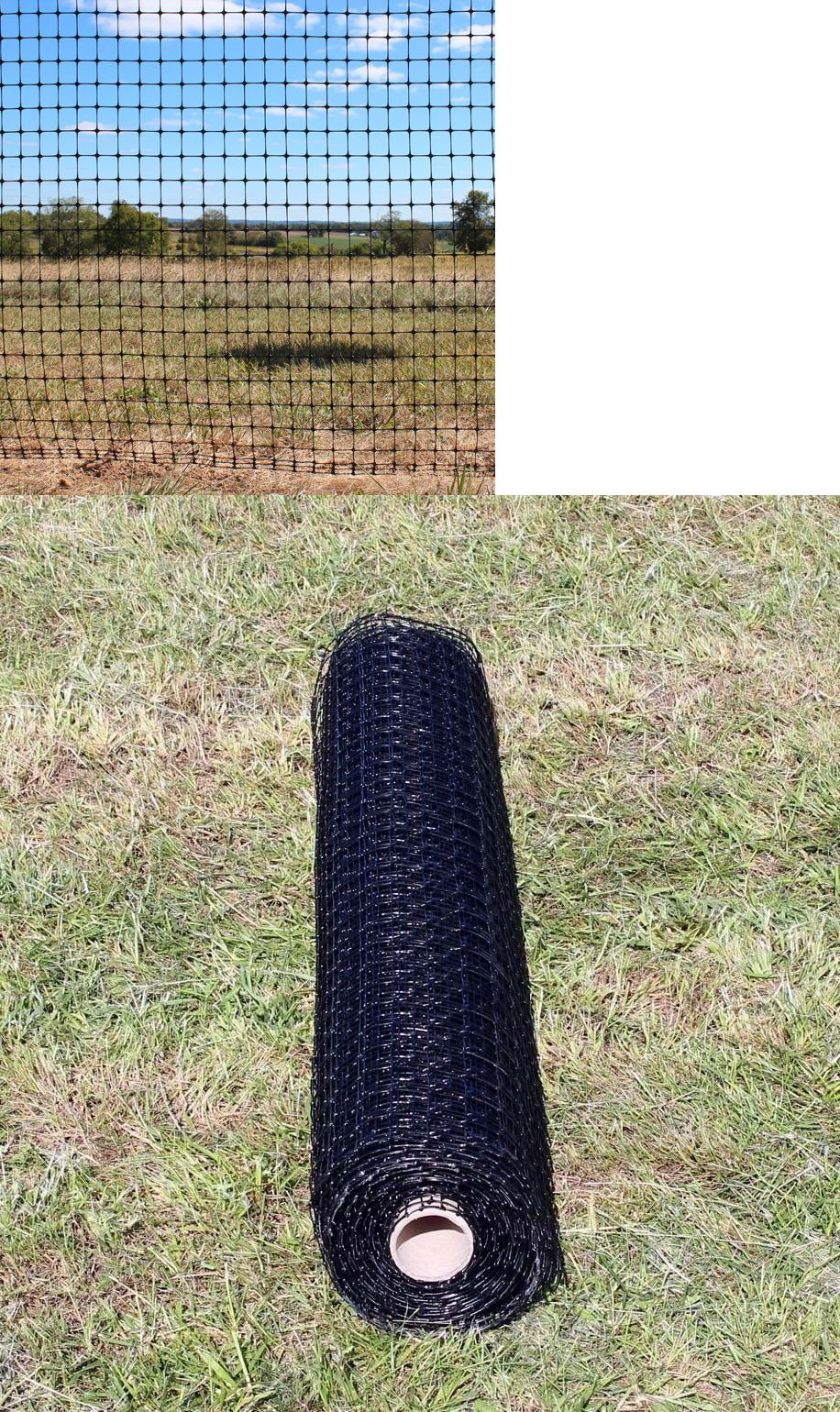 Privacy screen for chain link fence ebay - Other Garden Fencing 177033 4 5 X 100 Trident Extra Strength Deer Fencing Garden And