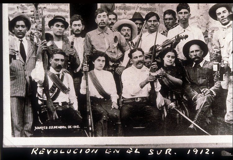 revolution in the south photo by agust atilde shy n victor mexican revolution