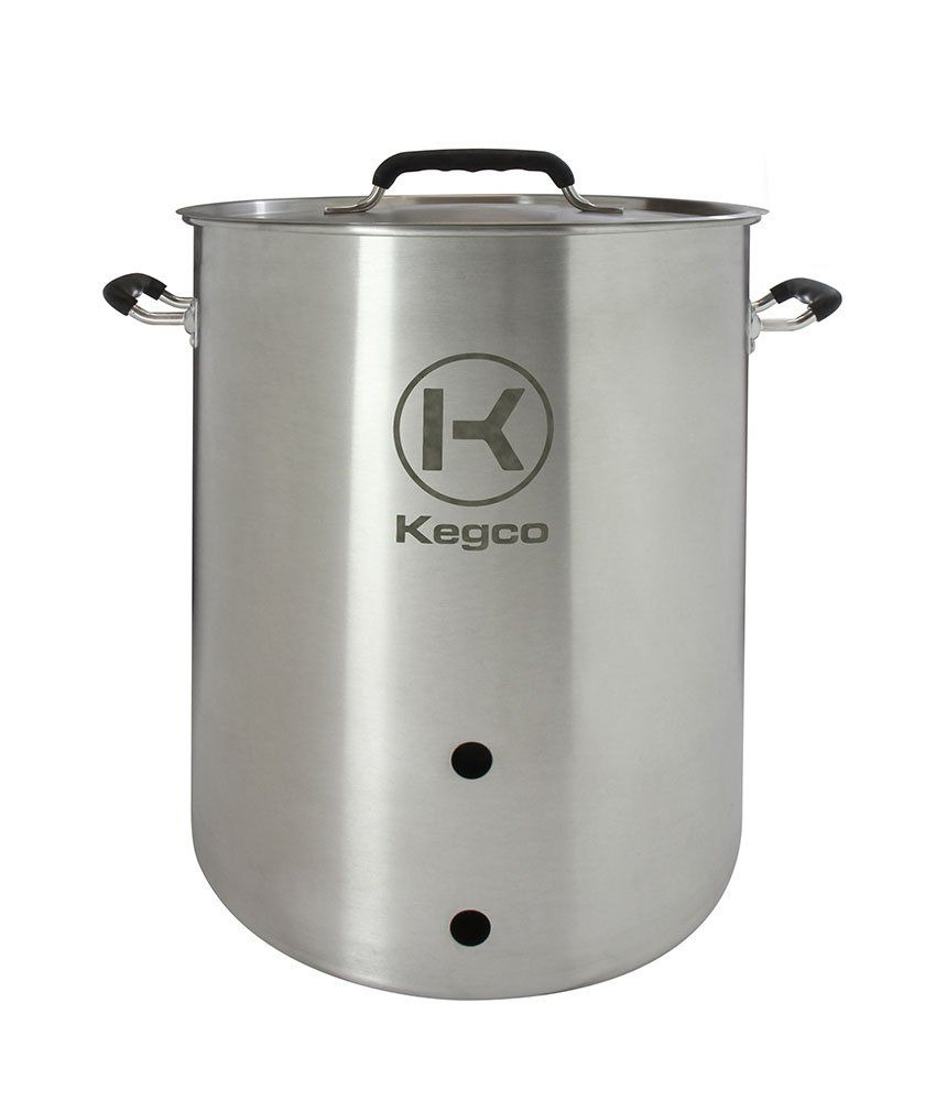 Kegco 10 Gallon Brew Kettle With Plug And 2piece Ball Valve You Can Get More Details By Clicking On The Image This Home Brewing Beer Brewing Kits Brewing