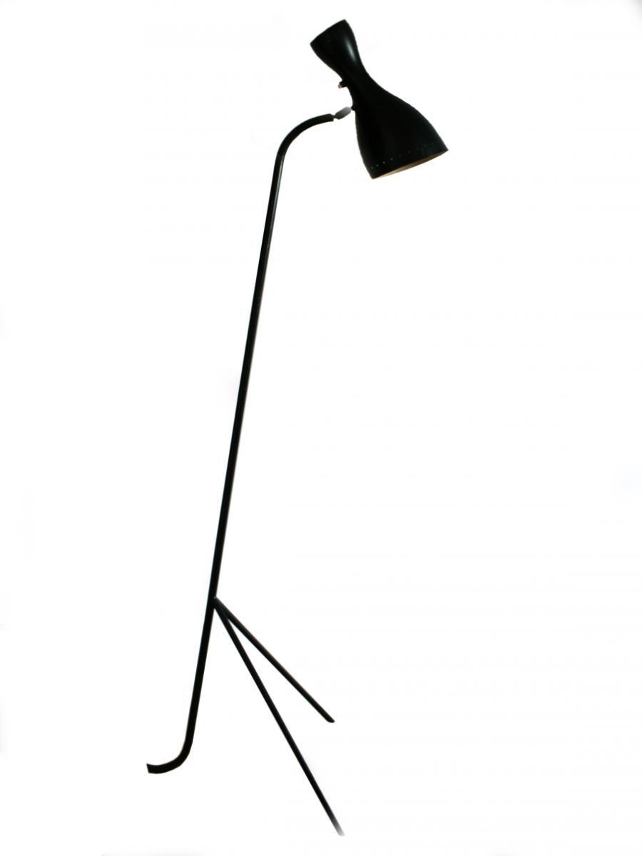 French Tripod Floor Lamp, 1950 1