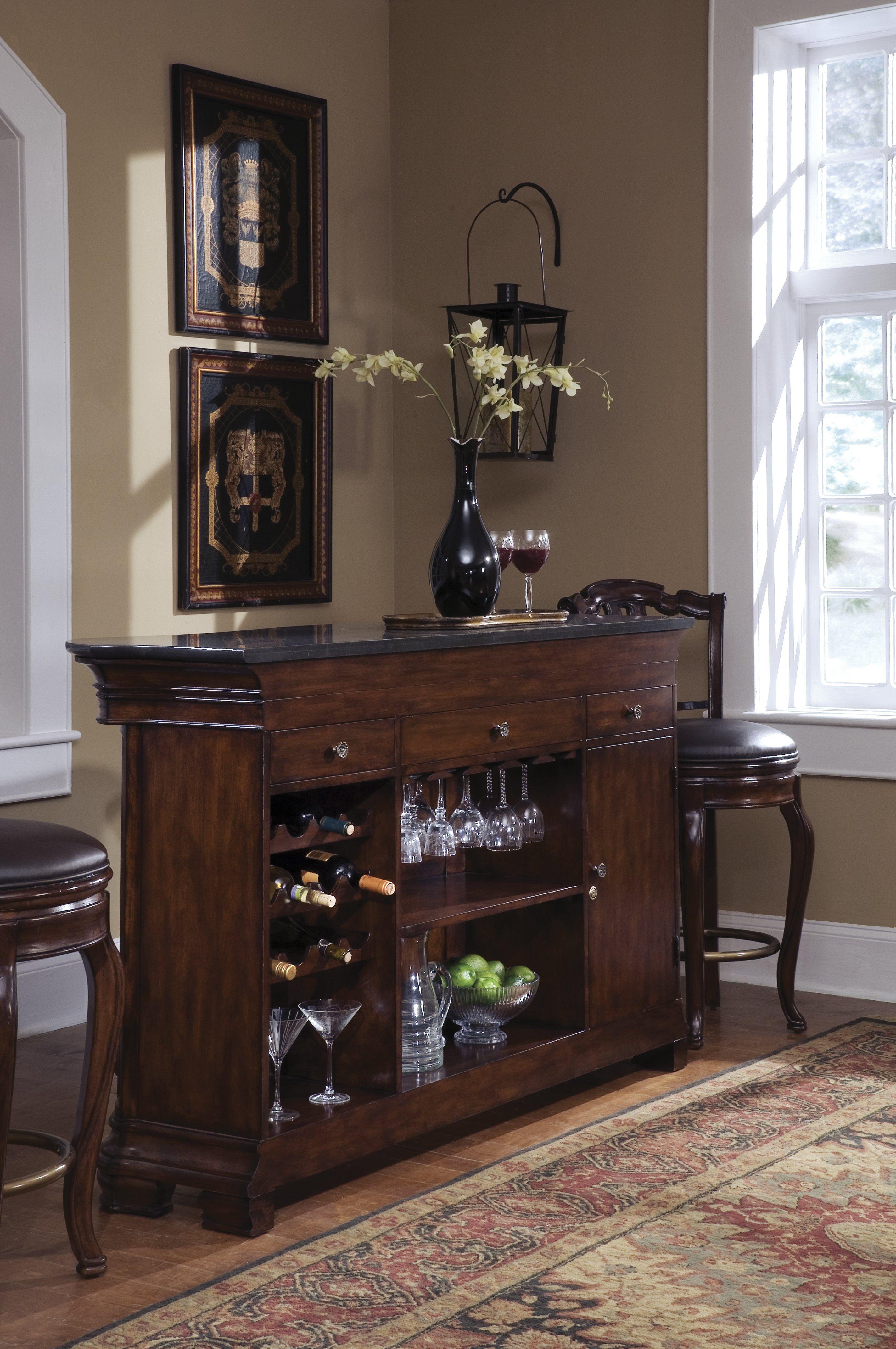 Pulaski Furniture Wooden Bar.