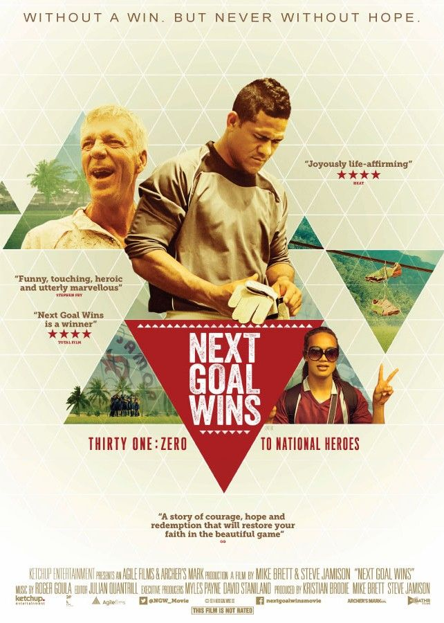 Next Goal Wins Geometric Movie Poster Weltrekorde Ganzer Film Deutsch Filme