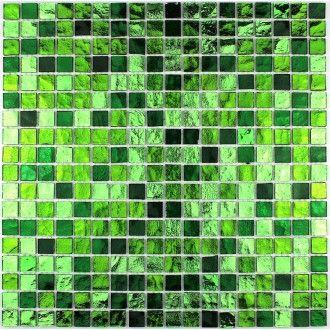 carrelage verre mosaique salle de bain douche gloss vert - Salle De Bain Mosaique Verte
