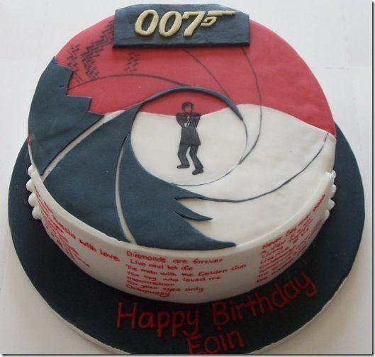 10 Awesome James Bond Cakes