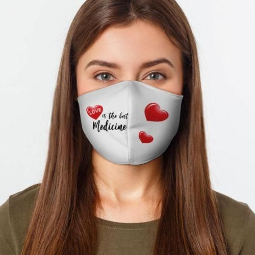 Photo of Love Medicine Face Mask | Washable and Reusable – S / Love Medicine