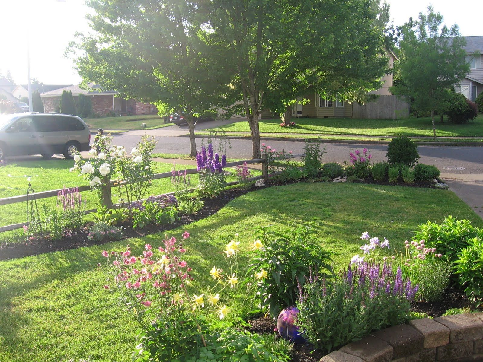 garden traditions front yard landscaping front yard on backyard fence landscaping id=43161