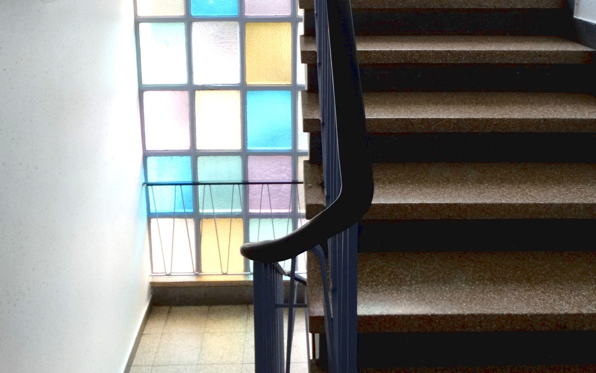 Neuer Look für Treppenhäuser in Recklinghausen Grand