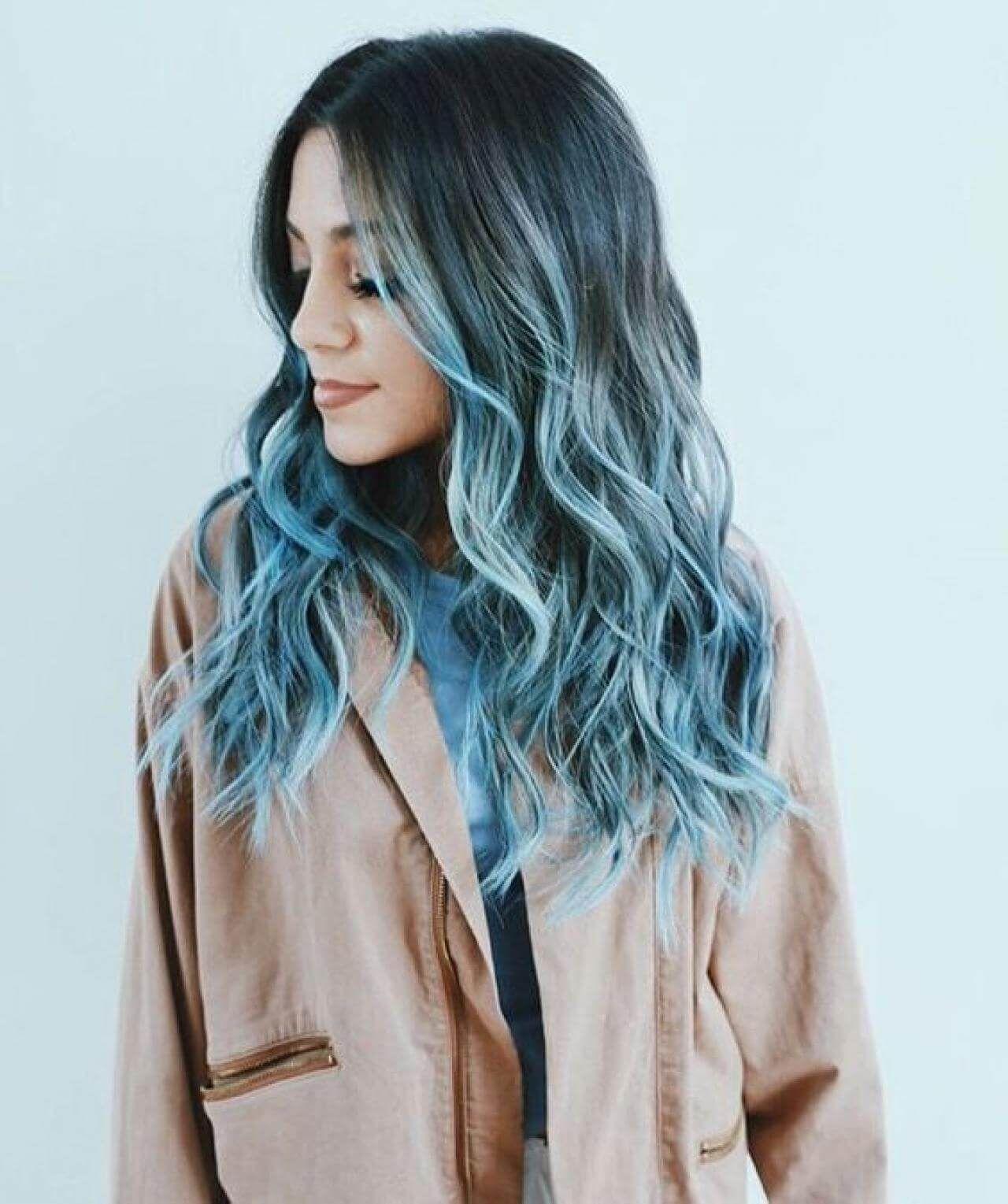 50 divertidas ideas para el cabello azul se vuelven más aventureras con tu cabello