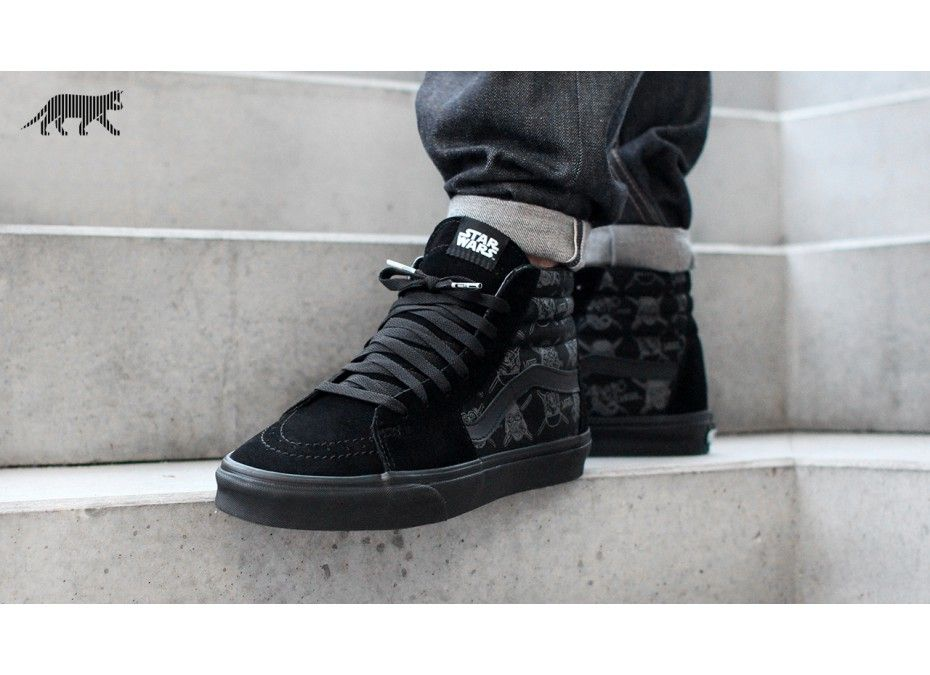 Vans SK8-Hi *Star Wars* (Dark Side / Darth Storm)