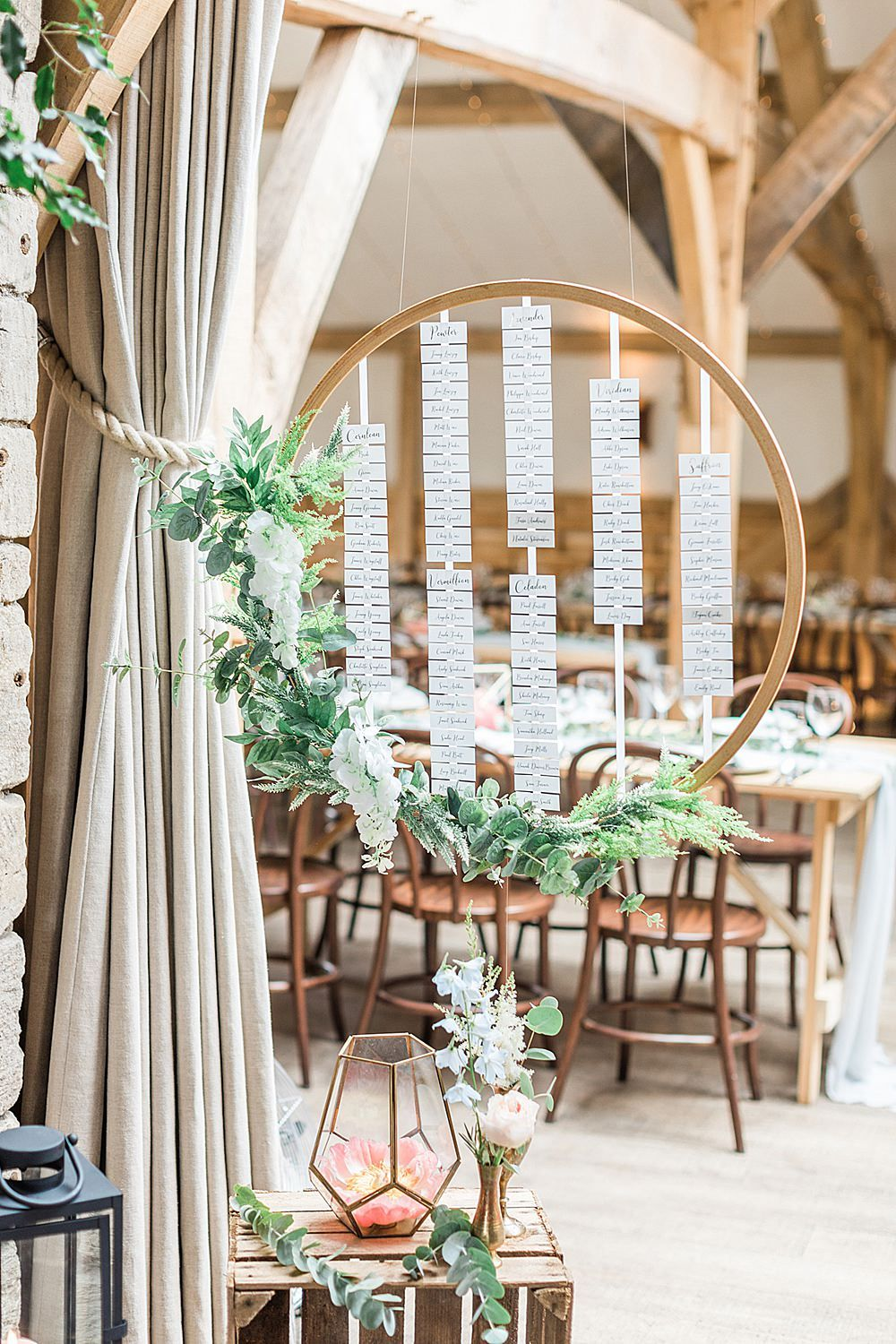 Pastel Wedding Flowers at Cripps Barn Cotswolds & Wtoo