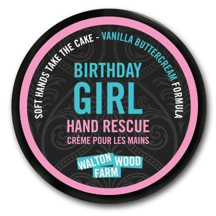 """Birthday Girl"" Hand Rescue"