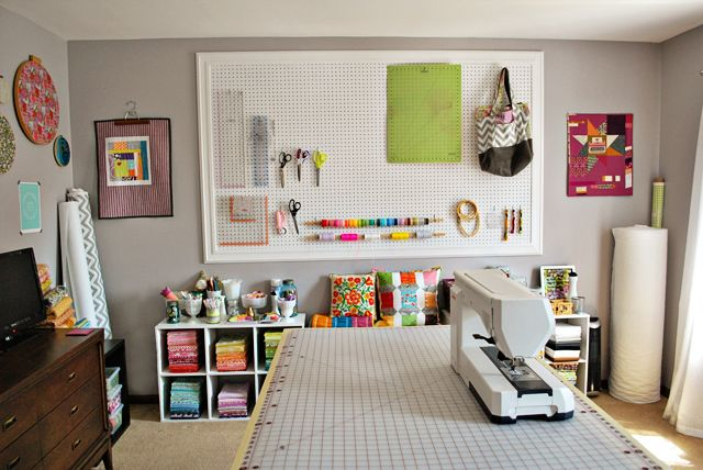 sewing room ideas | made sure to take some pictures of my sewing ...