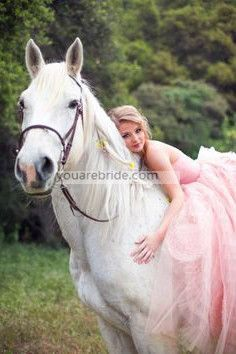 wedding dress; pink bridal dress