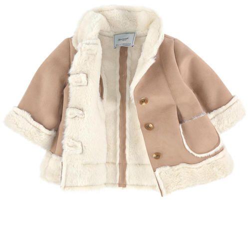 Mayoral - Imitation sheepskin coat - 196630 | Girl clothes ...