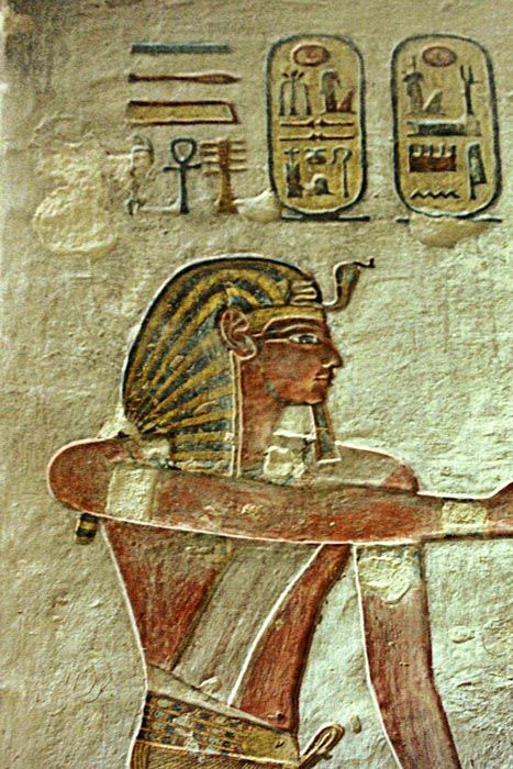 Valley of the Kings. KV11, tomb of Ramesses III | Egypt ...