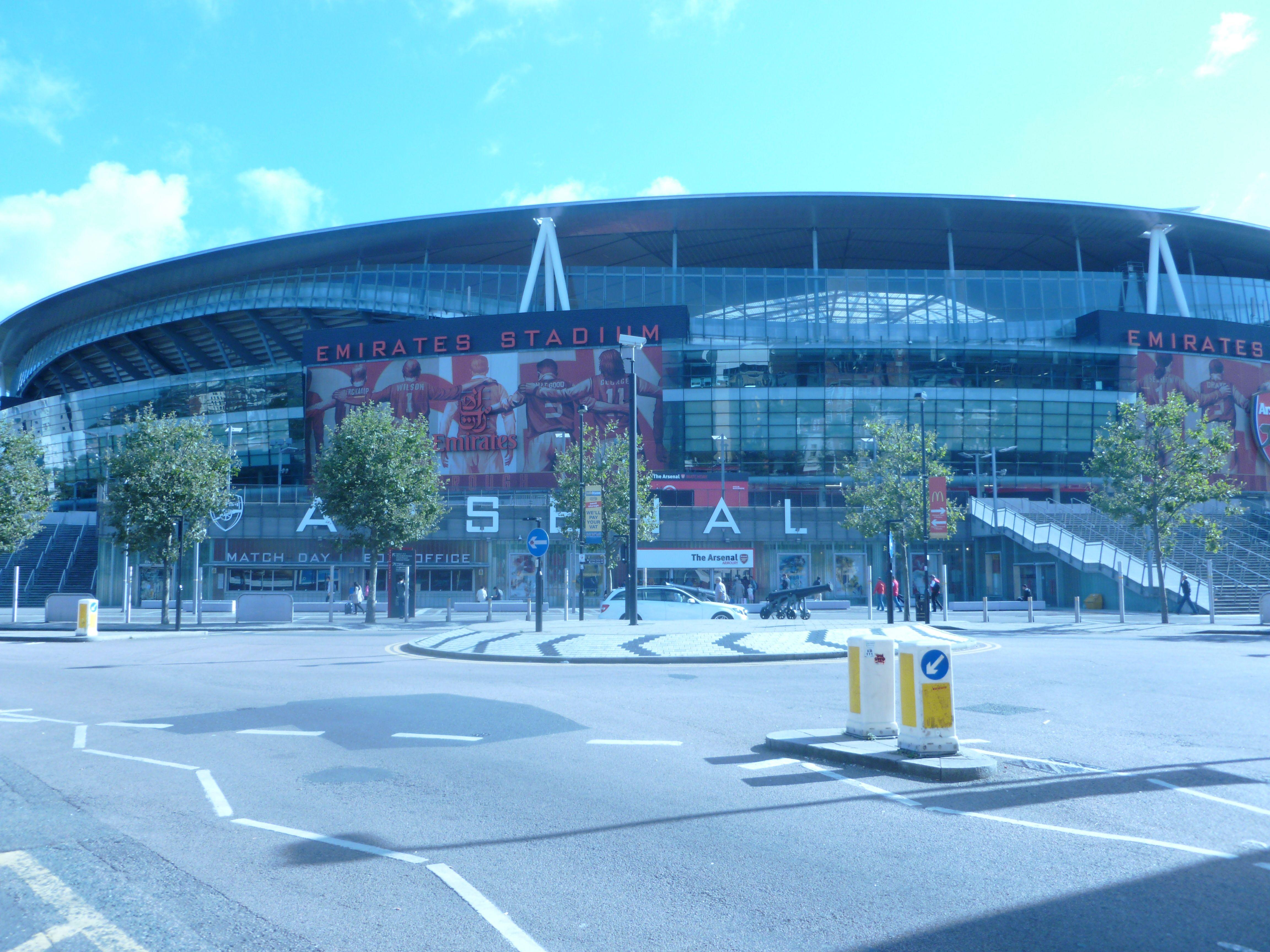 Emirates Stadium ( stade d'Arsenal )