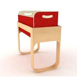 This beauty is making its way through the blogosphere. The Culla Belly, designed by Manuela Busetti and Andrea Garuti of Studio di Progettazione, won first place at the Playing Design's International Design Competition for children's design.