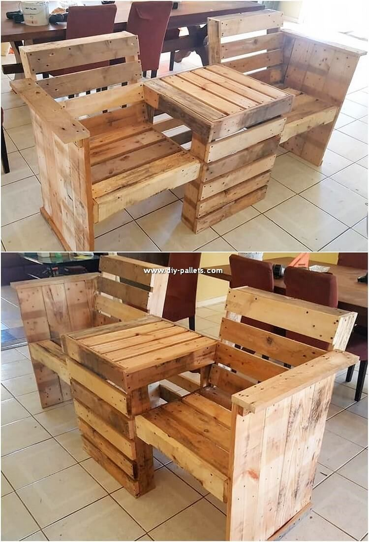 Wood Pallet Furniture Diy Pallet Storage Furniture Making A