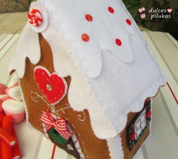 dulces pilukas: Casita de pan de jengibre. Gingerbread house ...