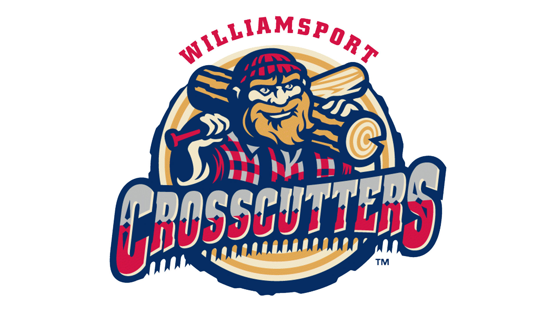 Meaning Williamsport Crosscutters Logo And Symbol History And Evolution Baseball Teams Logo Williamsport Sports Logo