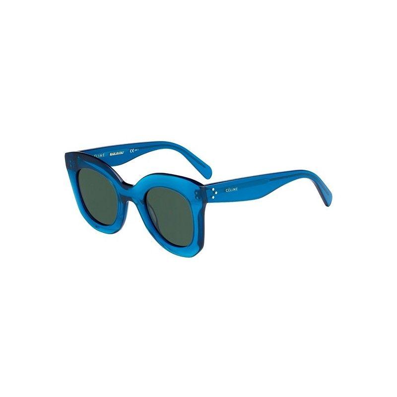 0c42a835c3e Gafas de Sol CELINE 41093 S MARTA Transparent light blue - Grey green