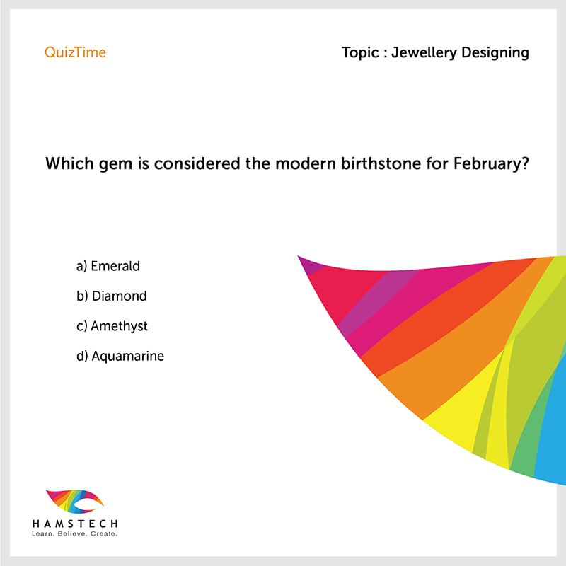 Quiztime Can You Answer This Hamstech In 2020 College Design Design Jewelry Design