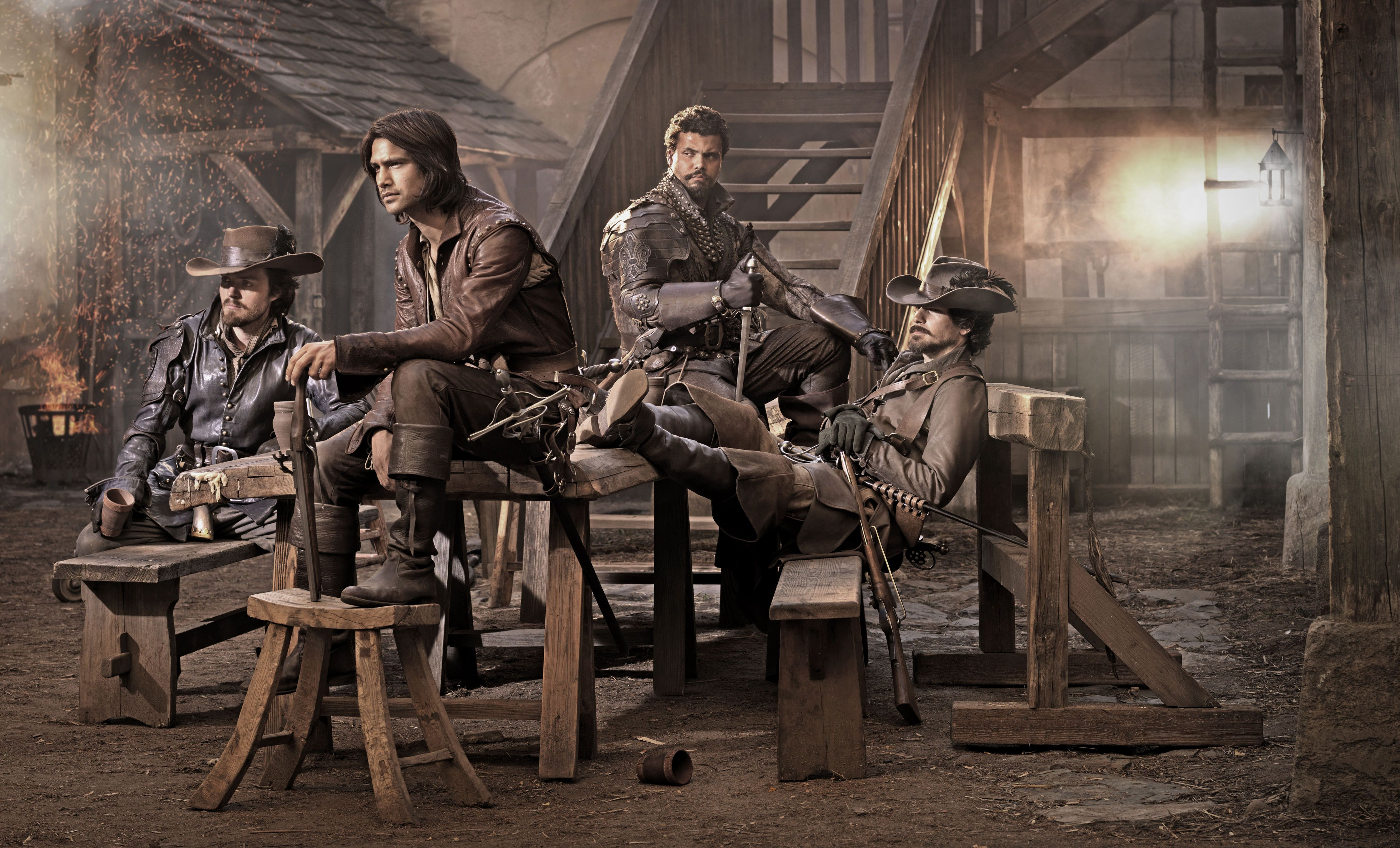Musketeers Bbc Cast