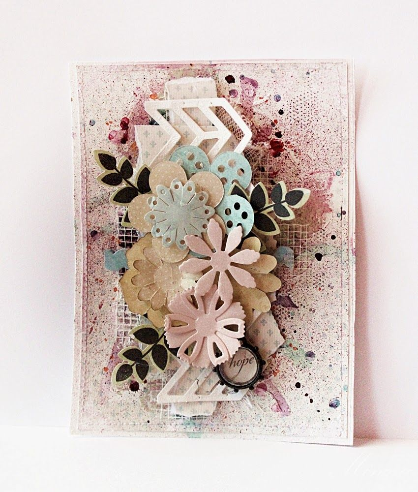Sizzix Co Uk Blogs Mixed Media Cards Cards Handmade Cards