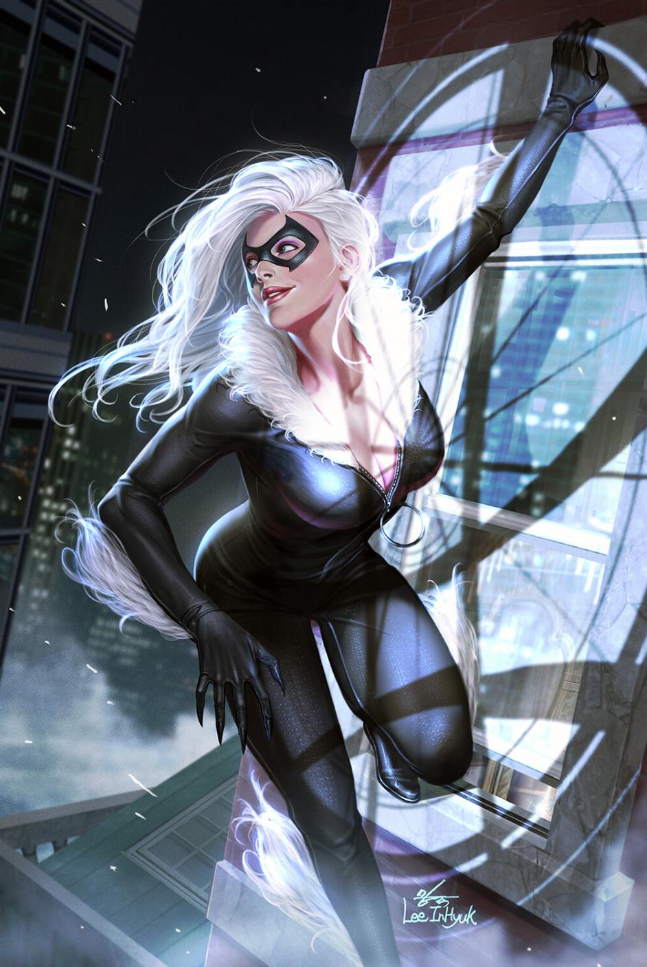 Black Cat Screenshots Images And Pictures Comic Vine Black Cat Marvel Spiderman Black Cat Black Cat Comics