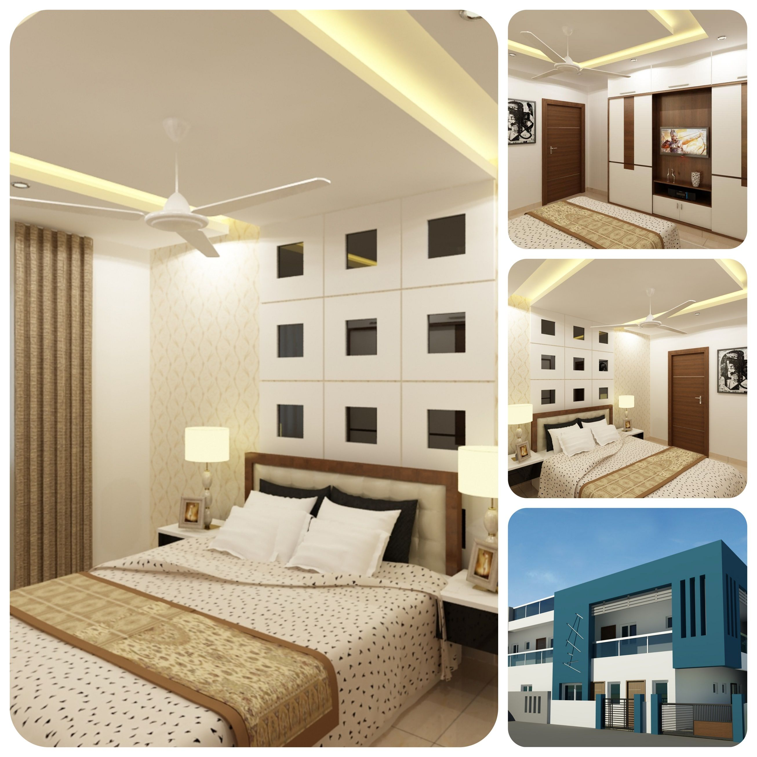 Awesome Bedroom Interior Design By Walls Asia Architects And Engineers For C Interior Designers In Hyderabad Interior Design Bedroom Commercial Interior Design