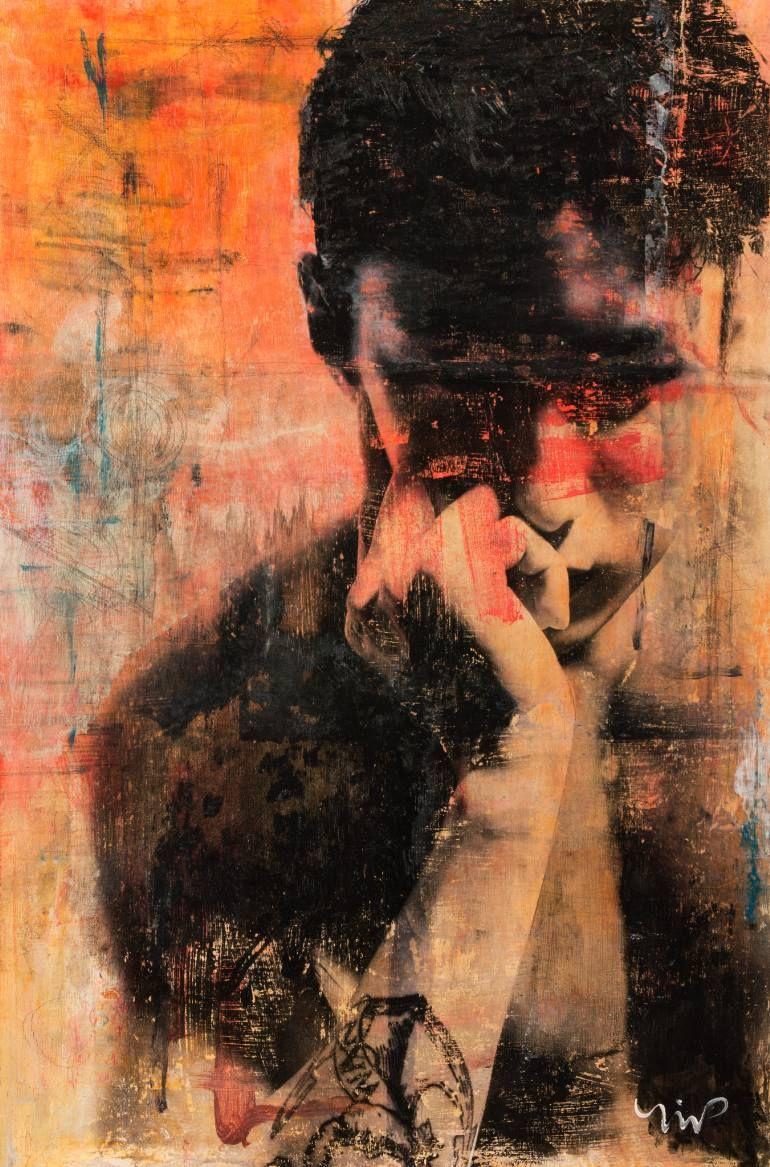 "Saatchi Art Artist Norm Yip; Painting, ""Heaven is here"" #art | Art painting,"