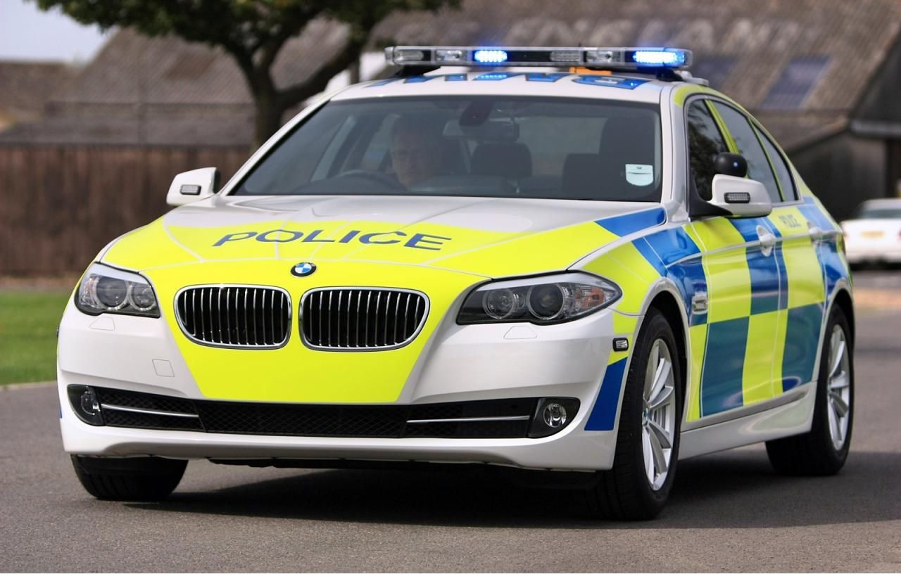 United Kingdom Bmw 530d Police Cars British Police Cars Bmw