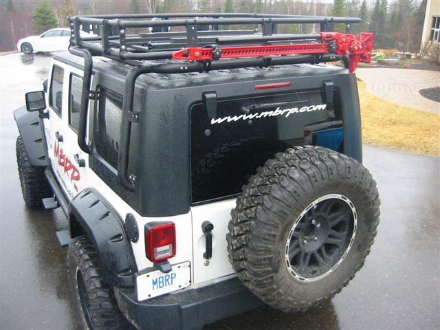 JK Overland Roof Rack. Probably The Toughest Rack Out There.