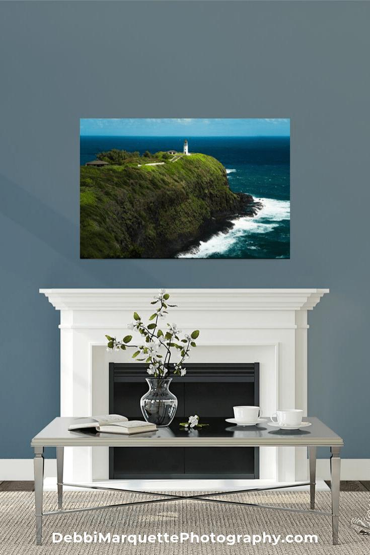 Hawaii Lighthouse Landscape Travel Photography Print Beautiful Landscape Photography Landscape Photography Seascape Photography