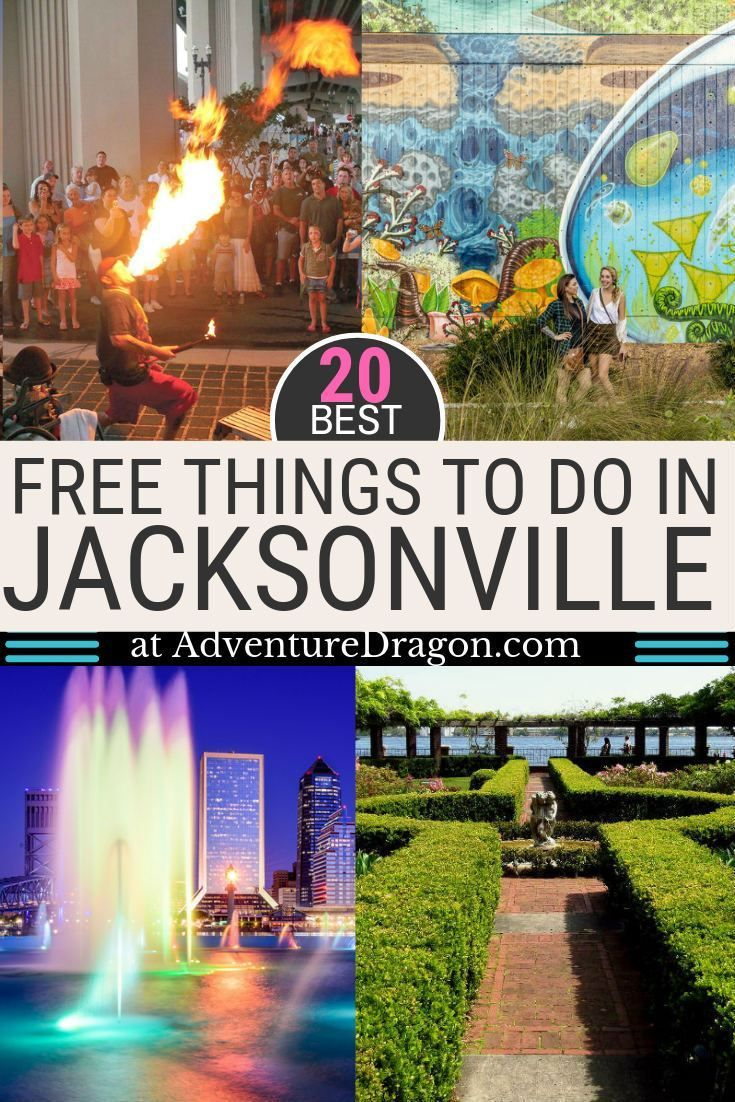 20 Best Free Things to Do in Jacksonville Florida -   19 travel destinations United States adventure