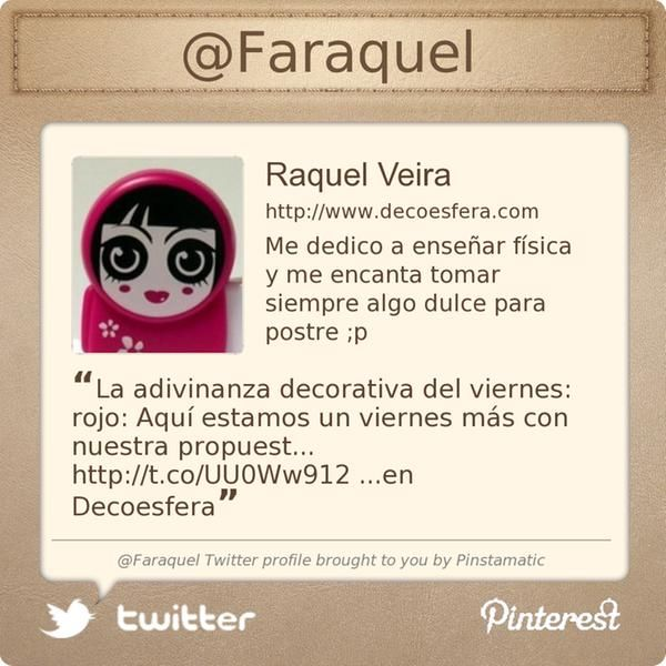 .@Faraquel's Twitter profile #FF