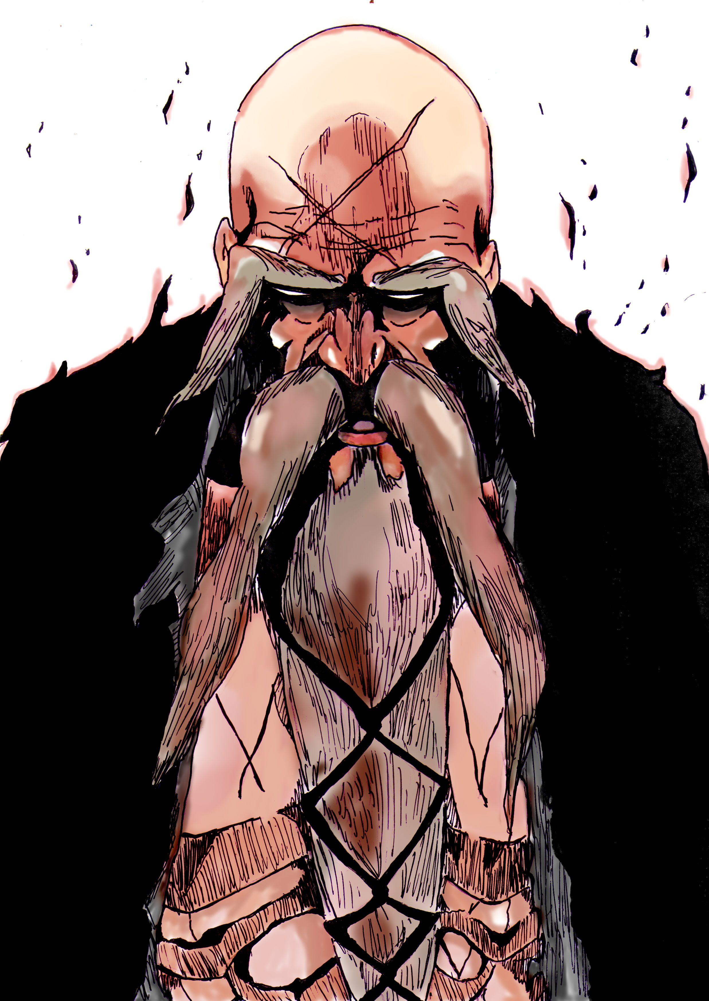 Yamamoto Genryuusai Shigekuni Anime Anime Manga Y Mangas