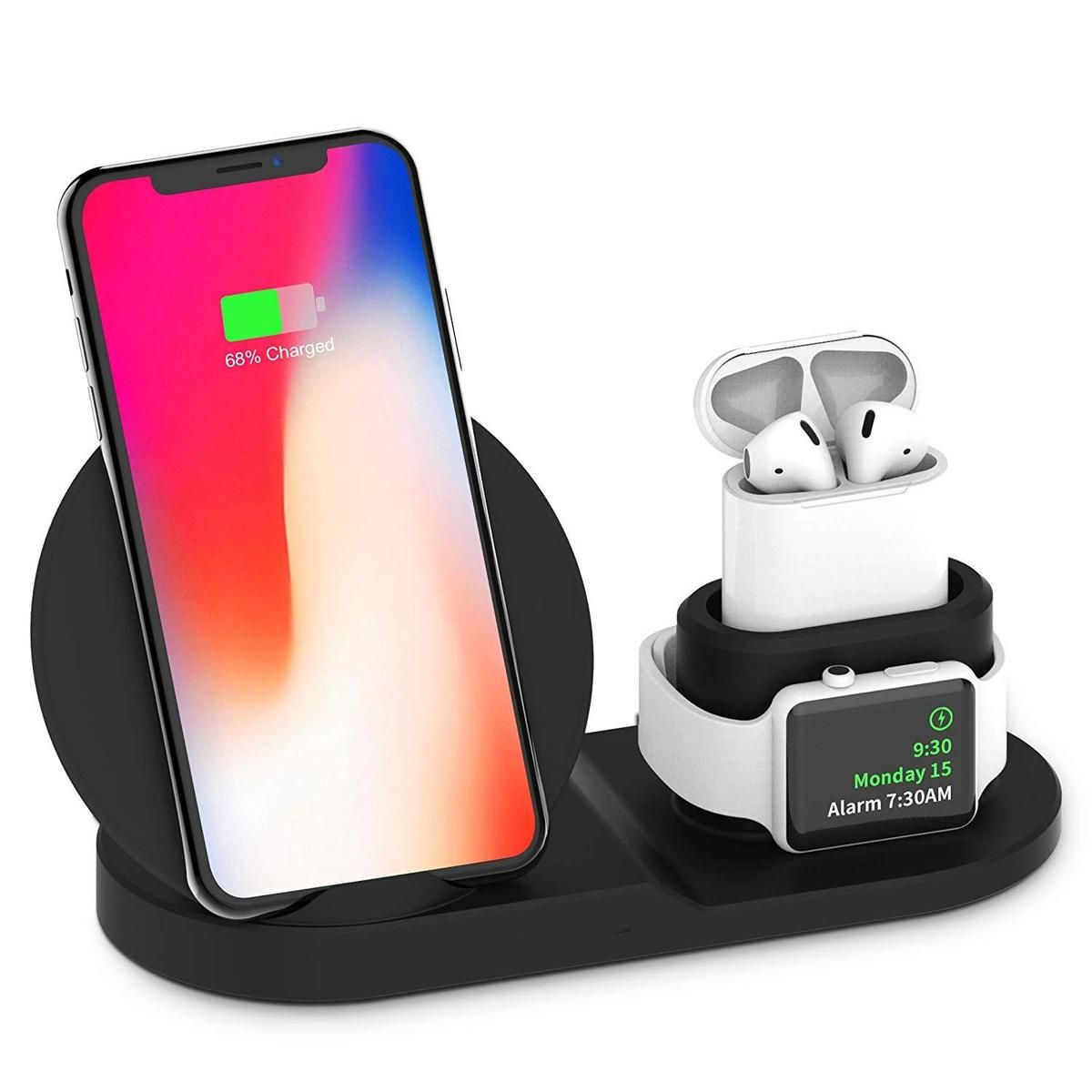 Wrls™ 3 in 1 wireless charging station in 2020 | Apple